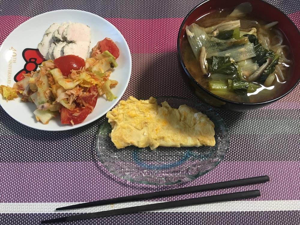 10日目朝食