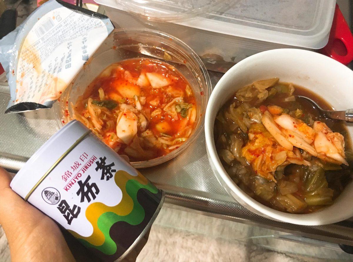 脂肪燃焼スープ1日目朝食