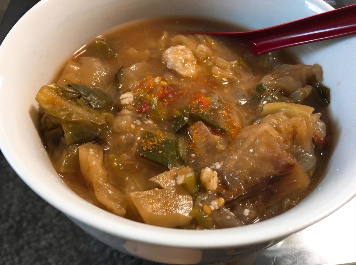脂肪燃焼スープ1日目夕食