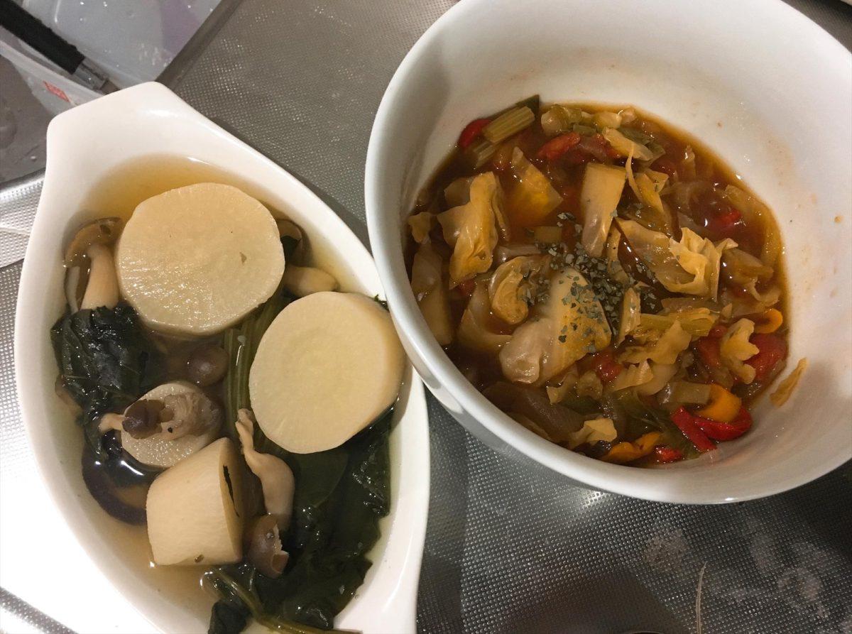 脂肪燃焼スープ2日目夕食