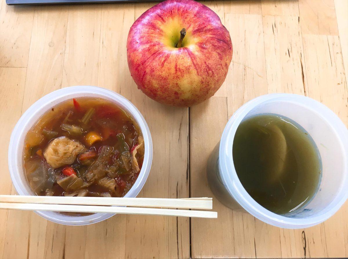 脂肪燃焼スープ3日目昼食