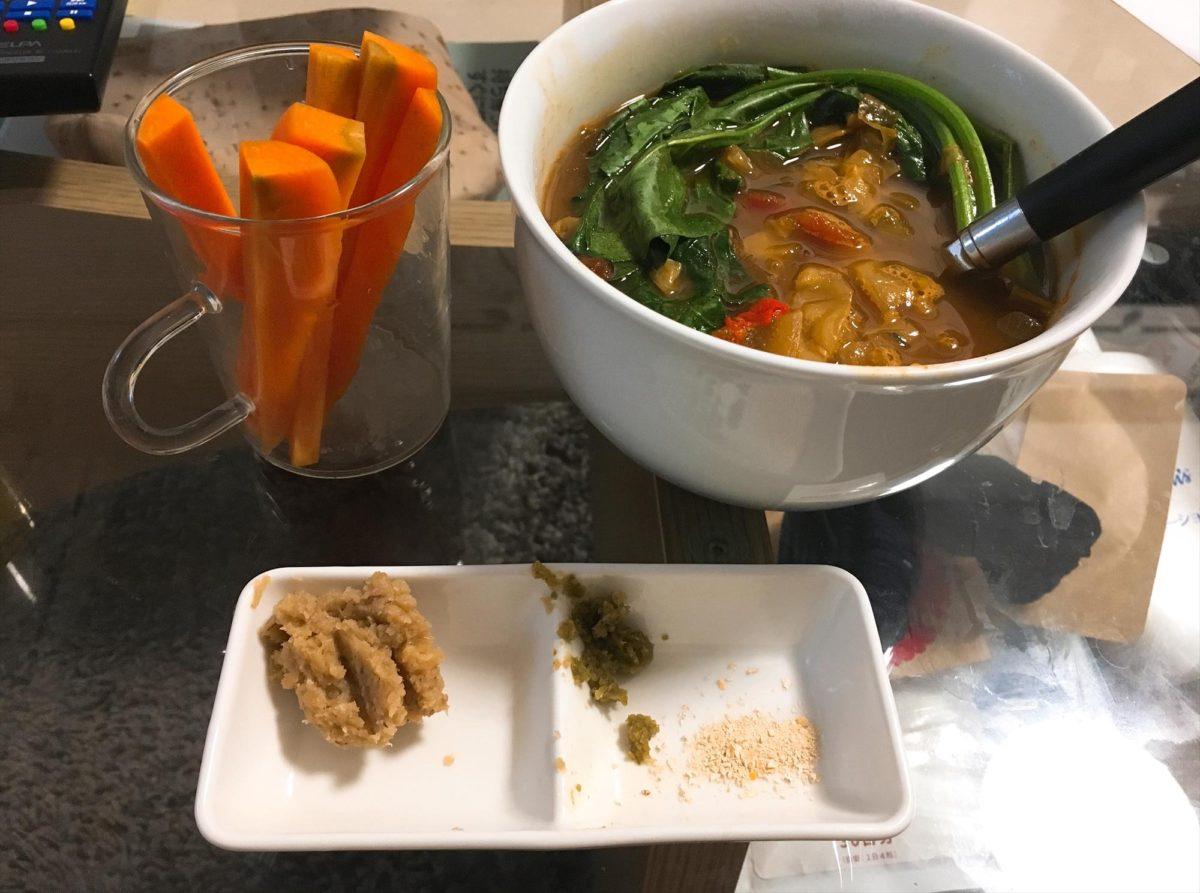 脂肪燃焼スープ3日目夕食