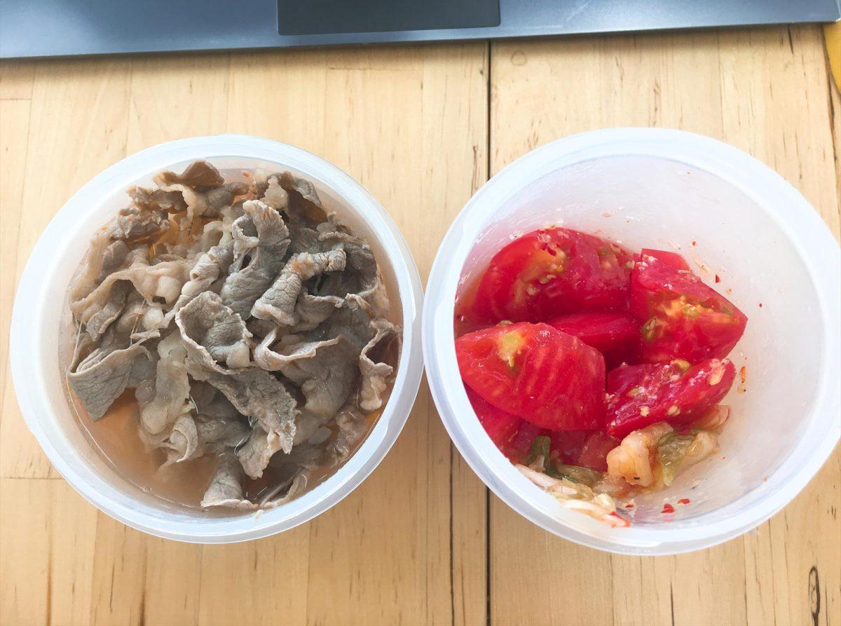 脂肪燃焼スープ5日目昼食