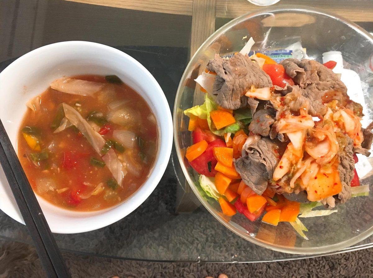 脂肪燃焼スープ6日目朝食