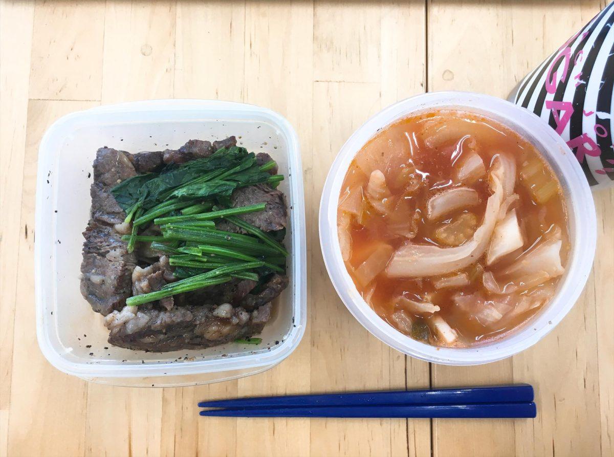 脂肪燃焼スープ6日目昼食