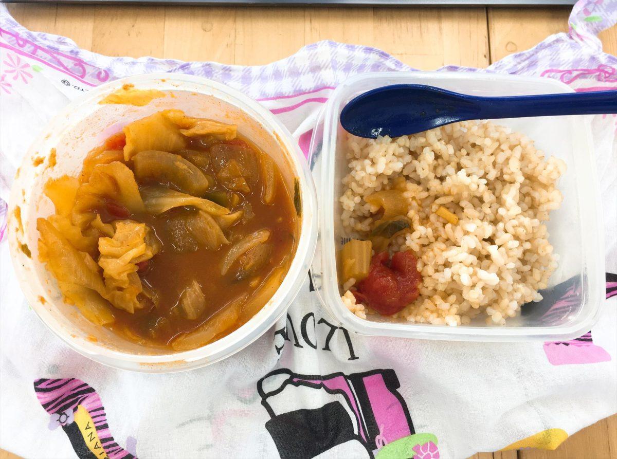脂肪燃焼スープダイエット最終日昼食